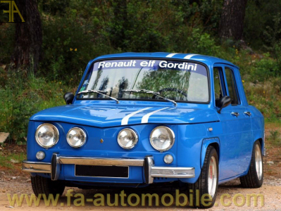 renault r 8 gordini vendre fa. Black Bedroom Furniture Sets. Home Design Ideas